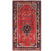 Link to 4' 8 x 8' 4 Hamedan Persian Rug
