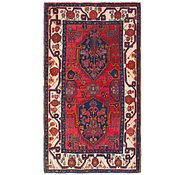 Link to 4' 3 x 7' 8 Hamedan Persian Rug
