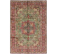Link to 6' 7 x 9' 7 Tabriz Persian Rug