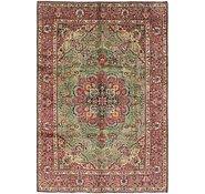 Link to 6' 7 x 9' 7 Tabriz Persian Rug