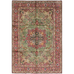 Link to 200cm x 292cm Tabriz Persian Rug item page