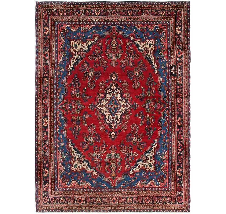 HandKnotted 8' 7 x 12' Hamedan Persian Rug