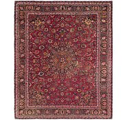 Link to 9' 8 x 11' 9 Mashad Persian Rug