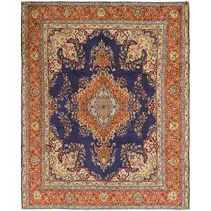 Link to 9' 7 x 11' 10 Tabriz Persian Rug item page