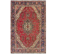 Link to 6' 4 x 9' 9 Tabriz Persian Rug