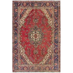 Unique Loom 6' 4 x 9' 9 Tabriz Persian Rug