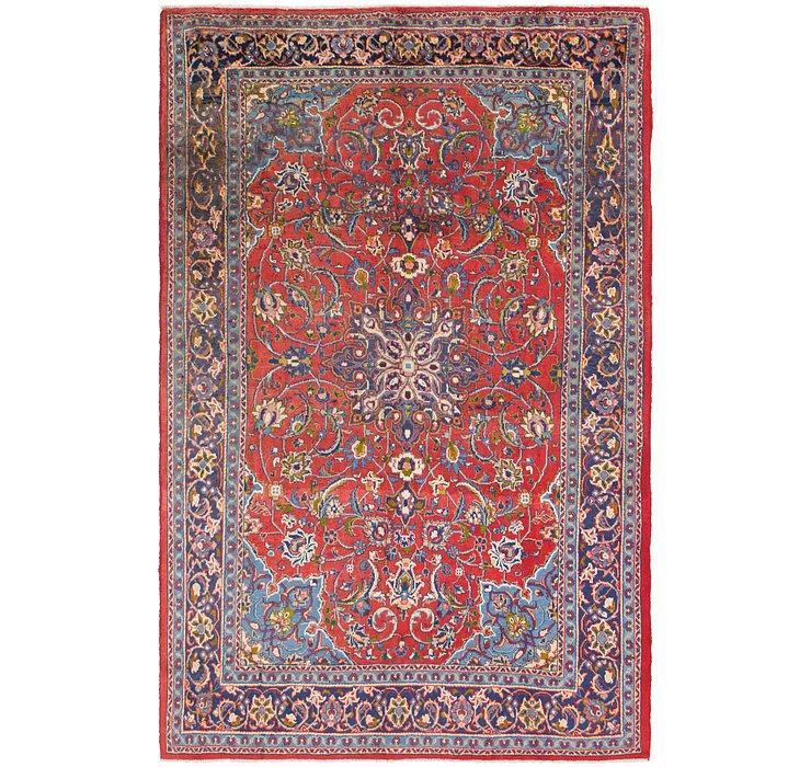 7' x 10' 9 Mahal Persian Rug