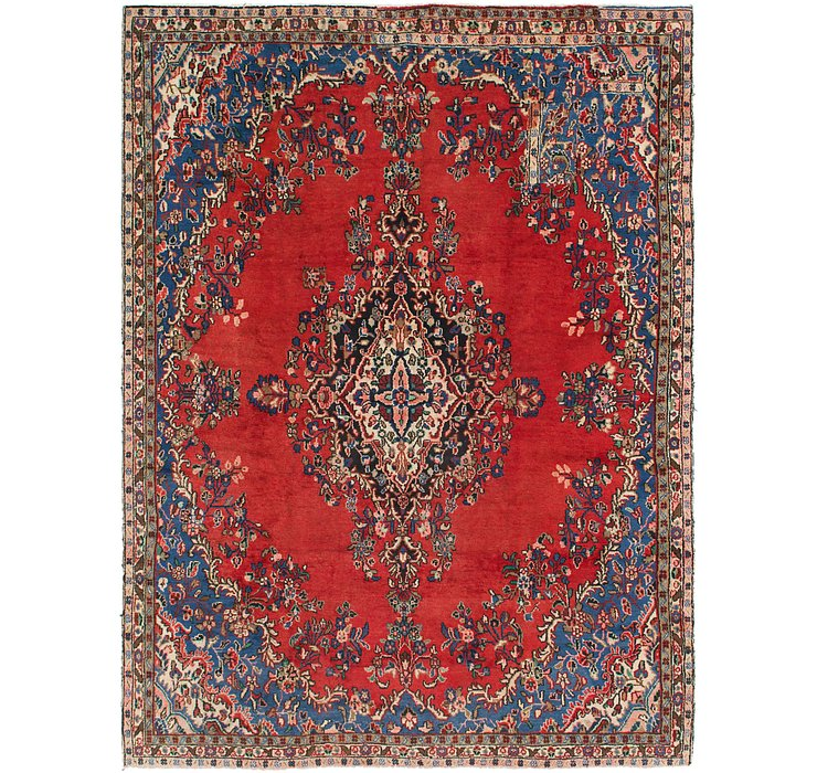 HandKnotted 8' 4 x 11' 3 Hamedan Persian Rug