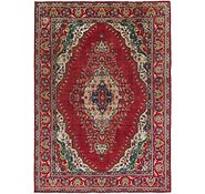 Link to 8' 2 x 11' 7 Tabriz Persian Rug