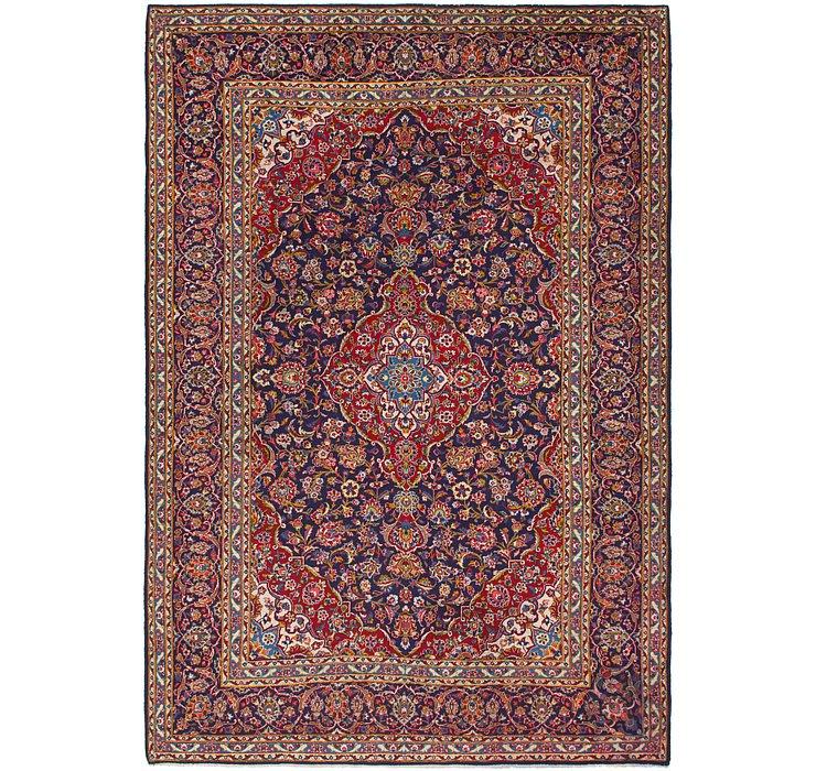 8' 2 x 11' 10 Kashan Persian Rug