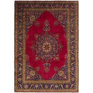 Link to 8' x 11' 7 Tabriz Persian Rug item page