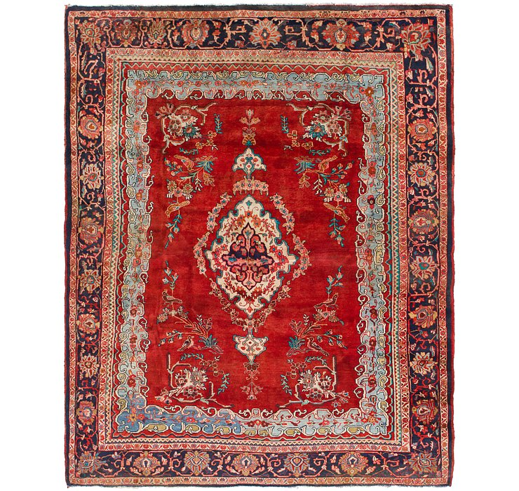 HandKnotted 8' 5 x 11' Mahal Persian Rug