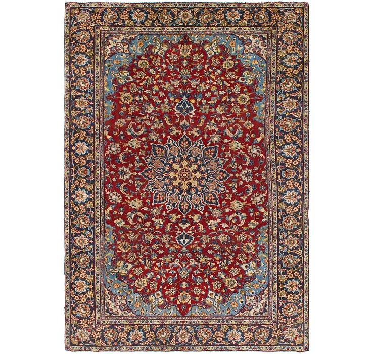 7' 5 x 11' Isfahan Persian Rug