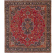 Link to 9' 10 x 10' 10 Mashad Persian Square Rug