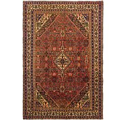 Link to 6' 8 x 9' 7 Hossainabad Persian Rug