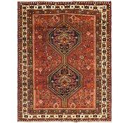 Link to 5' 5 x 7' Shiraz Persian Rug