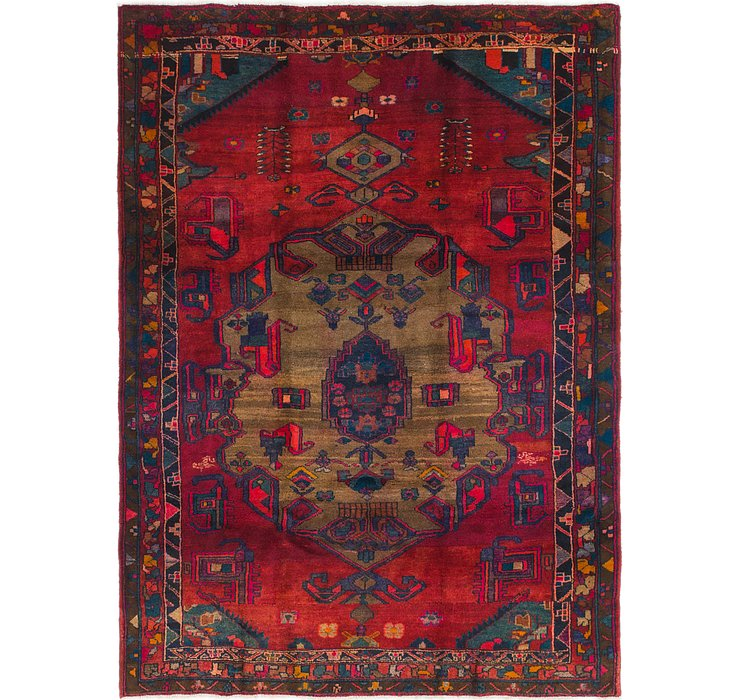 5' 10 x 8' Shiraz Persian Rug