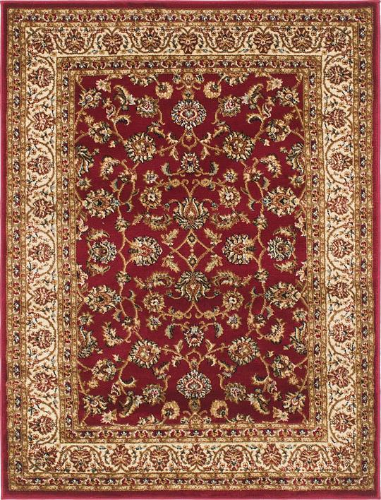 Top Red Unique Loom 4' x 5' 4 Kashan Design Rug | Area Rugs | Rugs.com TQ26