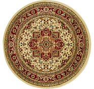 Link to 5' 3 x 5' 3 Kashan Design Round Rug