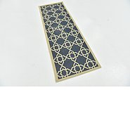 Link to 2' 6 x 6' 6 Outdoor Trellis Runner Rug