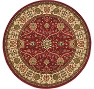 Link to 5' 2 x 5' 2 Classic Agra Round Rug