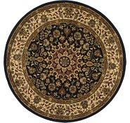 Link to 5' 3 x 5' 3 Mashad Design Round Rug