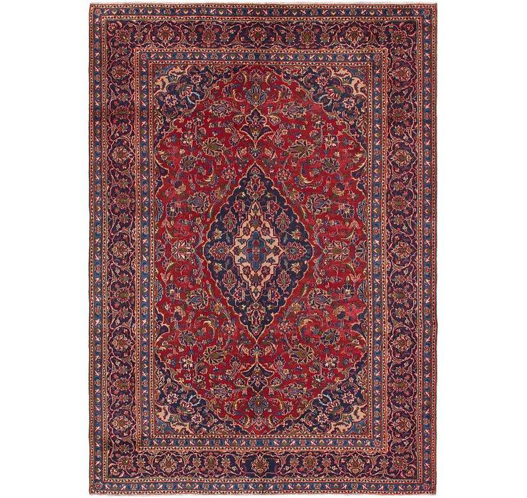 6' 6 x 9' 4 Mashad Persian Rug