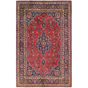 Link to 6' 2 x 10' Mashad Persian Rug item page