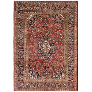 Link to 200cm x 282cm Mashad Persian Rug item page