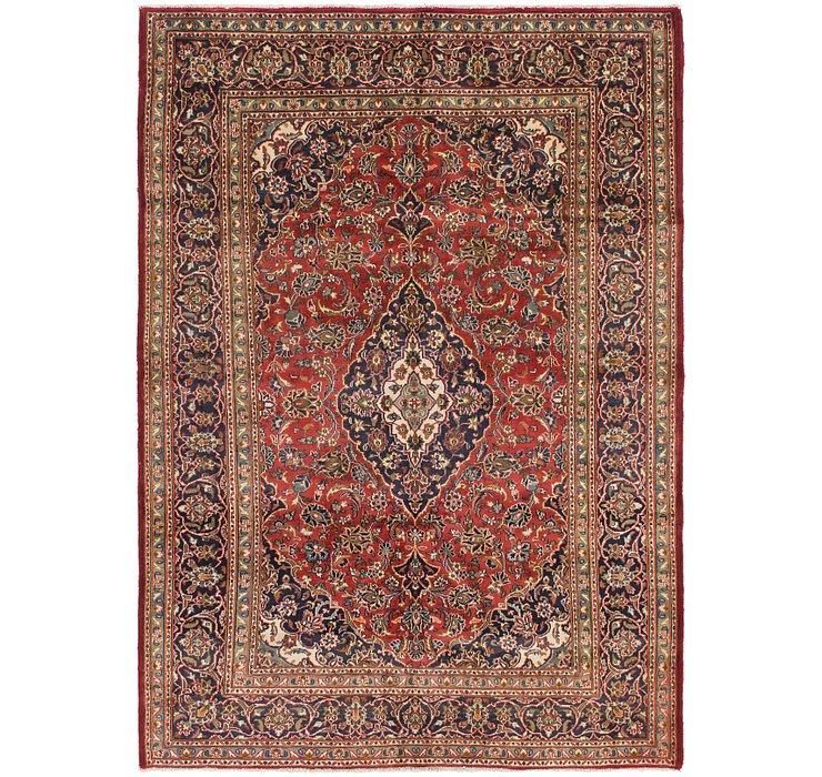 6' 7 x 9' 3 Mashad Persian Rug