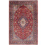 Link to 7' x 11' 2 Kashan Persian Rug