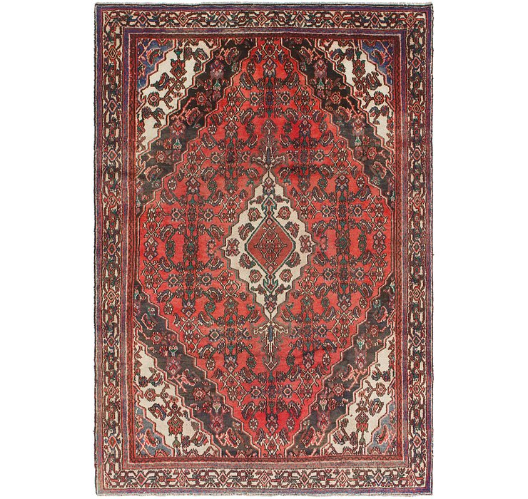 6' x 9' Hamedan Persian Rug