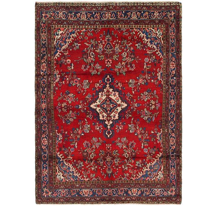 7' x 9' 7 Hamedan Persian Rug