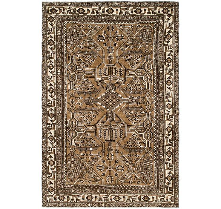 6' 4 x 9' 9 Ferdos Persian Rug