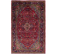 Link to 7' x 11' 2 Mashad Persian Rug