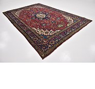 Link to 7' 7 x 11' 6 Tabriz Persian Rug