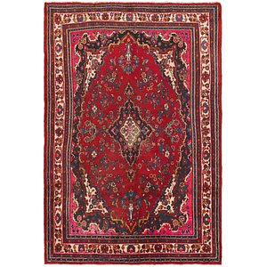 HandKnotted 6' 9 x 10' Shahrbaft Persian Rug
