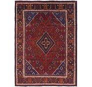 Link to 7' 4 x 10' Joshaghan Persian Rug