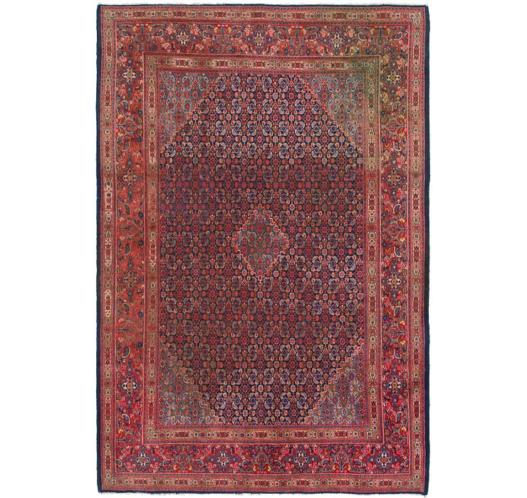 7' x 10' 6 Farahan Persian Rug