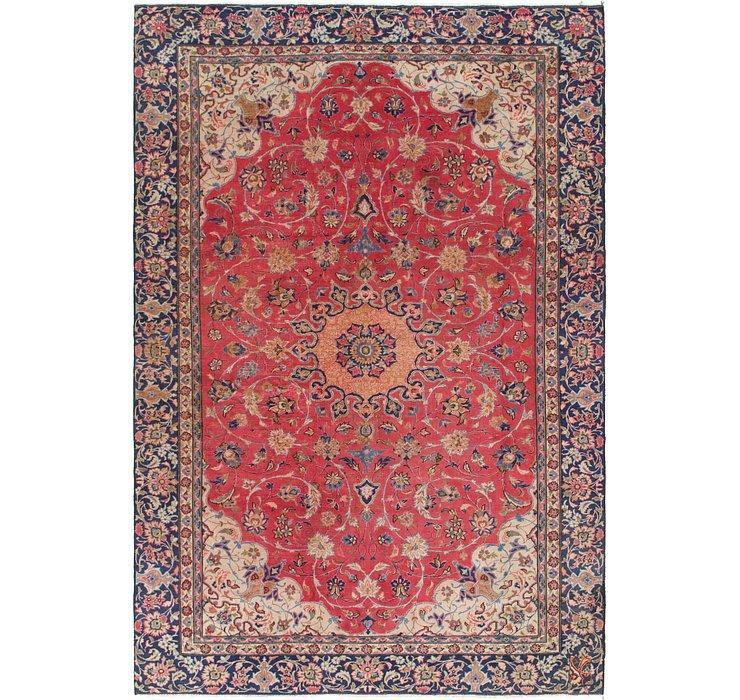 7' 7 x 10' 10 Isfahan Persian Rug
