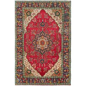 7' 7 x 11' 5 Tabriz Persian Rug