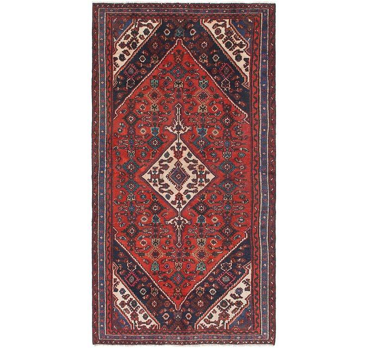 4' 6 x 8' 8 Hossainabad Persian Rug