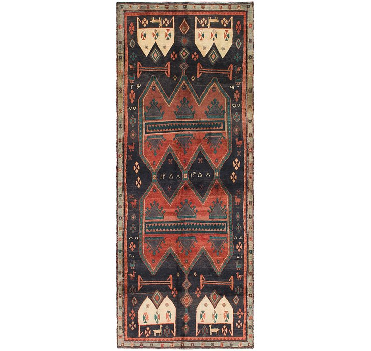 3' 8 x 9' 9 Sirjan Persian Runner Rug