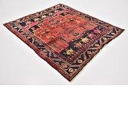 Link to 5' x 5' 7 Zanjan Persian Square Rug