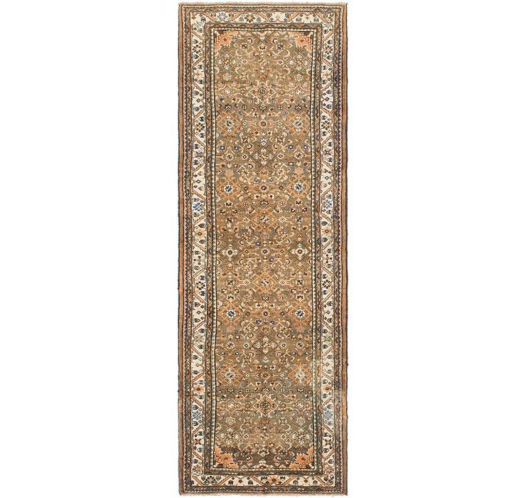 3' 7 x 10' 8 Hossainabad Persian Run...