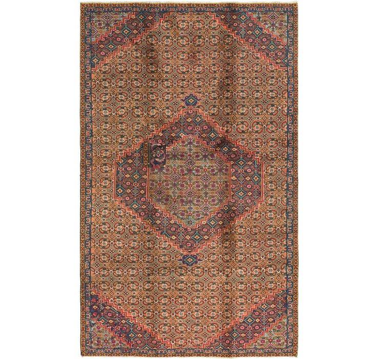 5' x 8' 2 Bidjar Persian Rug