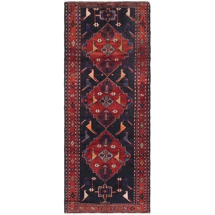 3' 8 x 9' 7 Senneh Persian Runner Rug