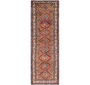 Link to 110cm x 335cm Chenar Persian Runner Rug