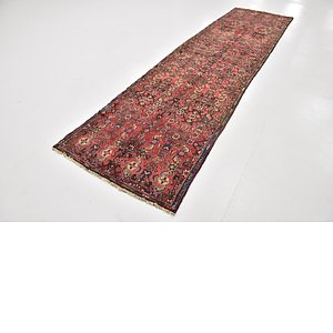 Link to 3' x 11' 6 Hossainabad Persian Ru... item page