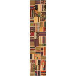Link to 85cm x 415cm Kilim Patchwork Runner... item page